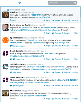 HubSpot Twitter Discussion Content Marketing