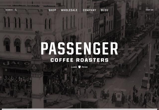 Background Image Passenger Coffee