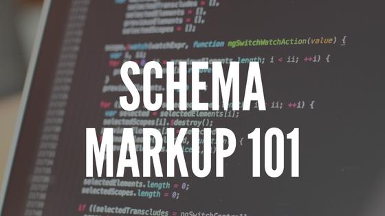 Schema Markup 101