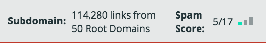 Moz-bar-SEO-spam-score