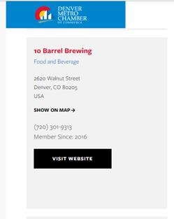 Denver Local SEO Directory Listings